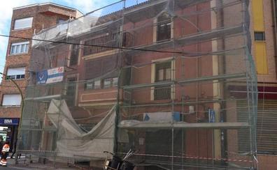 Herido al caer de las obras de un tejado en Guardo