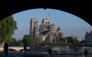 Notre Dame celebrará este fin de semana la primera misa tras el incendio