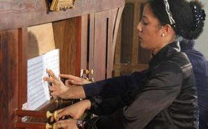 Sara Johnson, segundo premio en el Concurso de Órgano Francisco Salinas