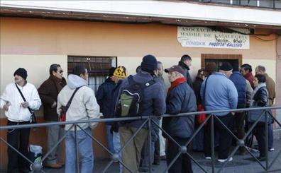 En España hay un millón más de personas en exclusión social que hace una década