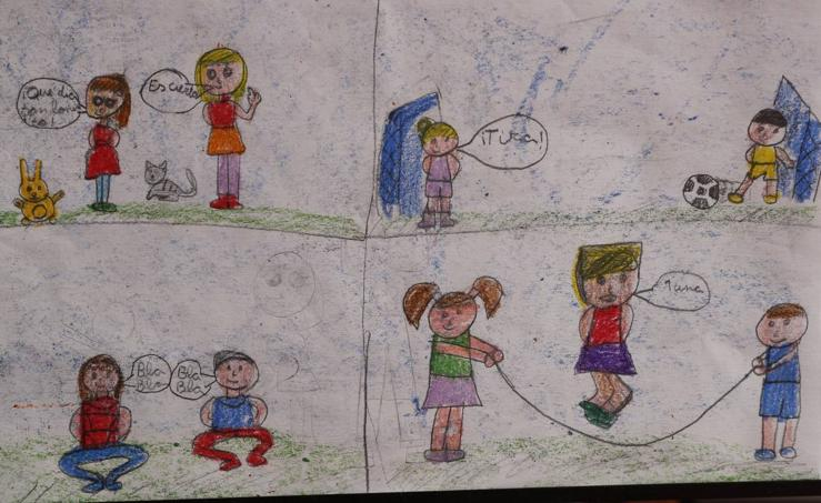 Trabajos de 3º de Primaria en la modalidad de cómic del III Concurso de Dibujo y Cómic 'La vida del campo'