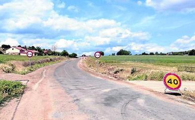 La Diputación corta al tráfico la carretera entre Caballar y el cruce de Turégano a El Guijar