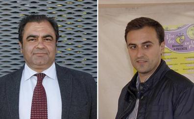 Adolfo Palacios y Miguel Abia, diputados provinciales por Saldaña