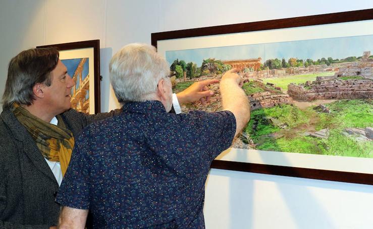 Exposición de la obra pictórica de Juan Báez Mezquita en la UVa