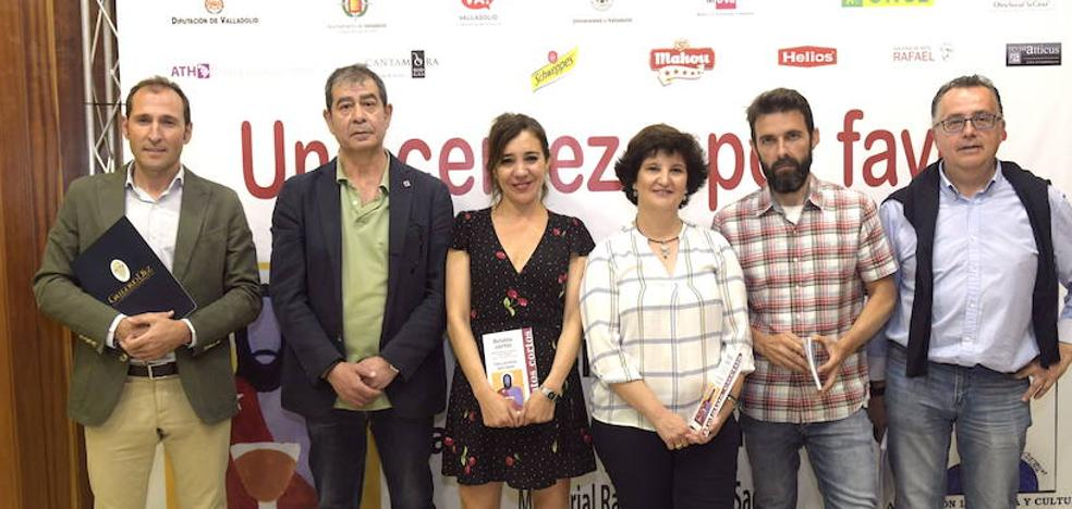 La actriz Constanza Aguirre, vencedora del Concurso de Relatos Café Compás de Valladolid