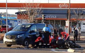 Eximen de prisión al conductor de una furgoneta que se saltó un semáforo y arrolló a un motorista que murió en Valladolid