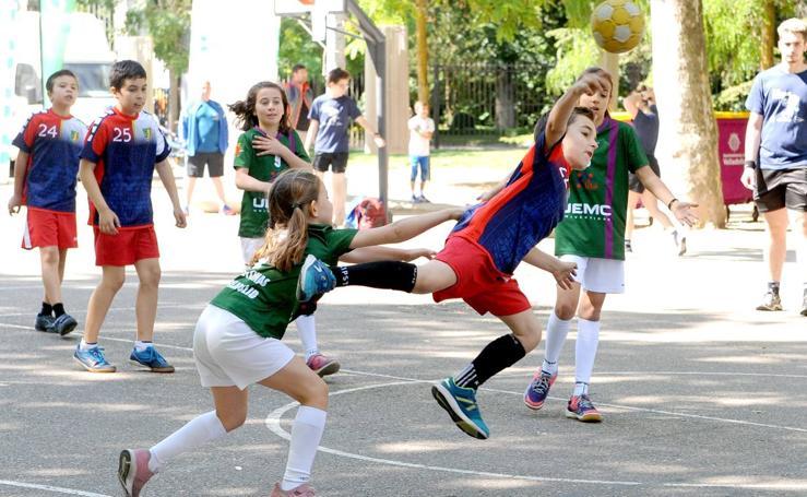 Deporte Base del 8 y 9 de junio. Valladolid (2/2)