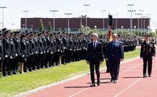 Grande–Marlaska preside en Ávila la jura de la promoción de policías más numerosa de los últimos años