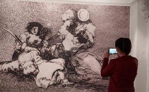 La sala de La Pasión plasma la empatía de Goya con el mundo femenino en 85 grabados