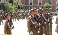 Clausura del curso de la Academia de Caballería de Valladolid