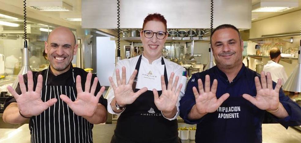 Ángel León cocina a seis manos en la Ribera del Duero vallisoletana