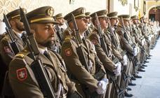 Despedida del curso en la Academia de Artillería