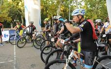Marcha cicloturista y bailes en Huerta del Rey