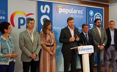 Lacalle cede la Alcaldía de Burgos a Ciudadanos, sin descartar entrar en el gobierno