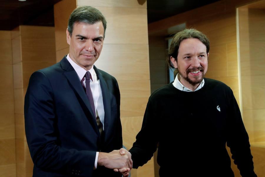 La investidura de Pedro Sánchez