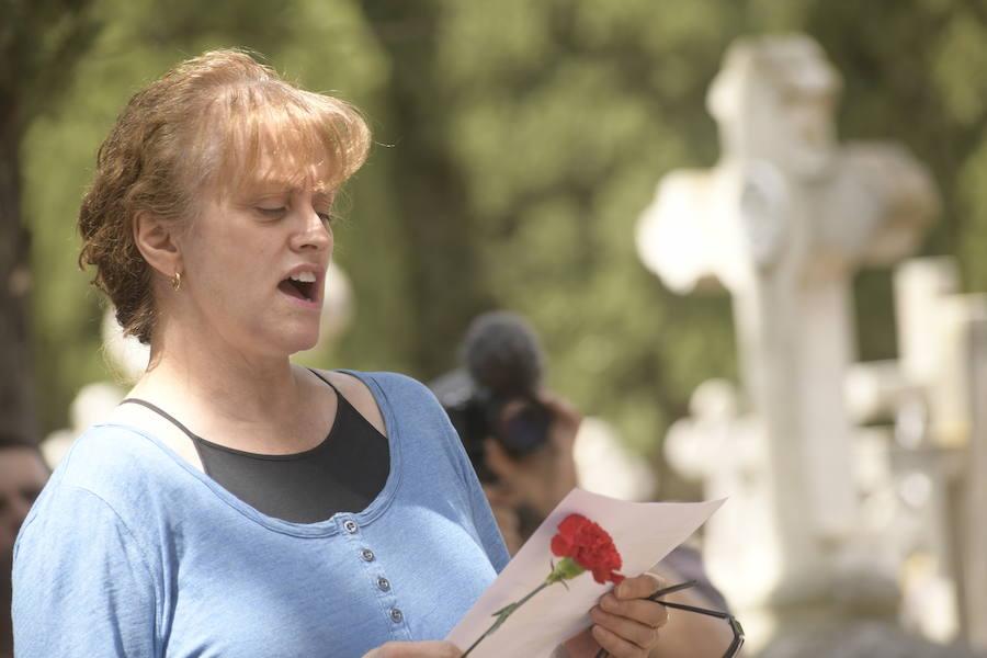 Homenaje a los represaliados de la Guerra Civil en Valladolid