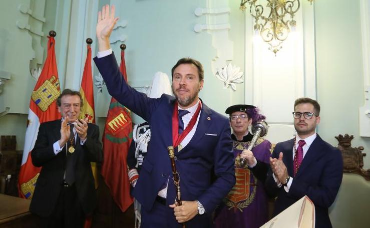 Todas las imágenes del Pleno de Constitución del Ayuntamiento de Valladolid