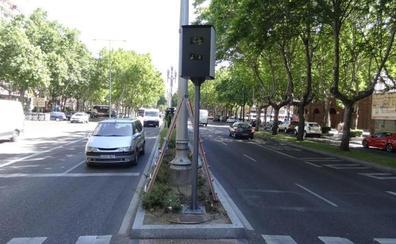 La sustitución de seis viejos radares de velocidad eleva a doce las cámaras multicarril en Valladolid