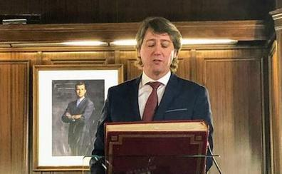 Carlos Martínez apela a la «ética de la política» durante su discurso de investidura como alcalde de Soria