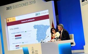 Interior achaca el vuelco en la Diputación de Segovia a «proyecciones» sobre los datos de la Junta Electoral