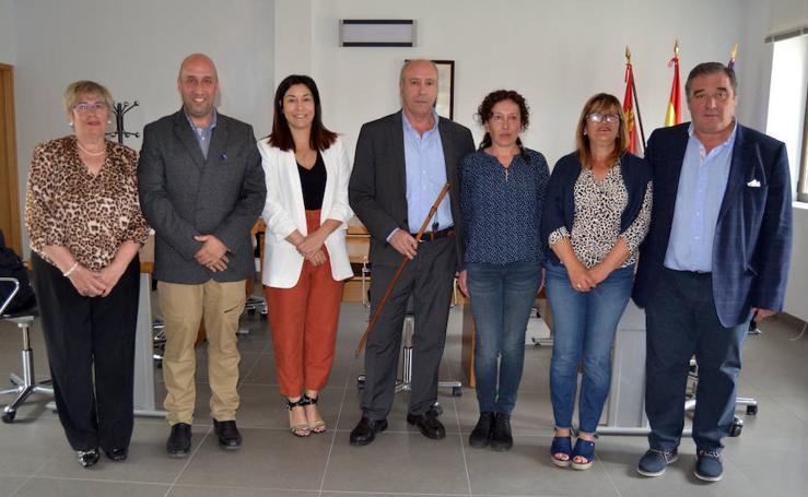 Constitución de los Ayuntamientos de Palencia