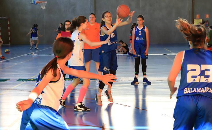 La cantera salmantina disfruta con el Basket 3x3 de Primavera