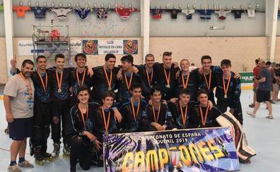 El CPLV juvenil, campeón de España