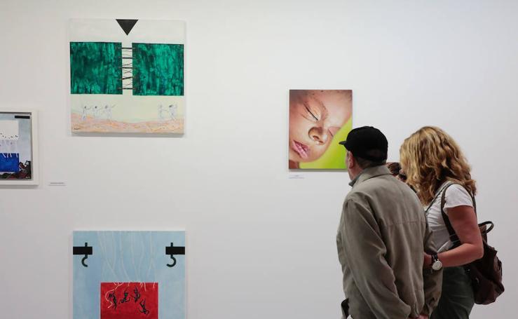 La exposición 'Miradas diversas' en la Fundación Segundo y Santiago Monte