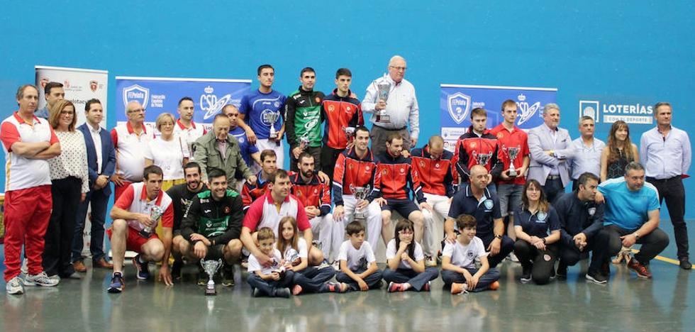 Navarra conquista la Copa del Rey de pelota en Vallelado