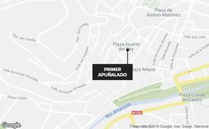 Cuatro jóvenes heridos por agresión con arma blanca en distintos lugares de Burgos