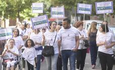 Marcha por la igualdad en La Rondilla, Valladolid