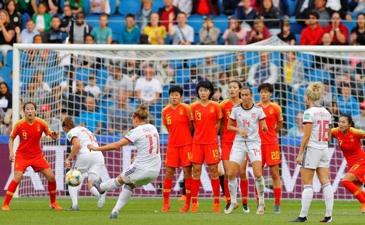 Las mejores imágenes del China-España