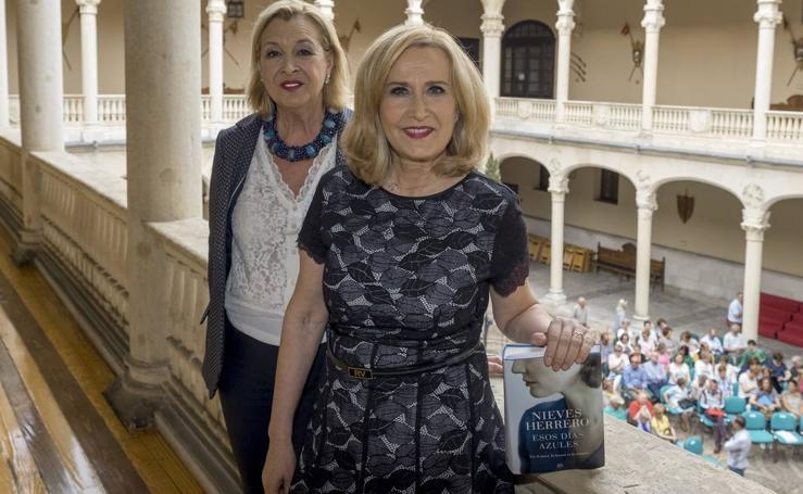 Nieves Herrero en el Aula de Cultura de El Norte de Castilla