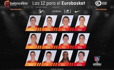 España ya tiene a sus doce jugadoras para el Eurobasket