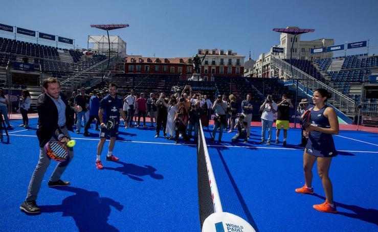 Inauguración del Valladolid Master 2019 de World Padel Tour