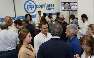 El PP de Segovia estudia «todas las acciones legales» por la «disparidad» de Interior en el reparto de diputados provinciales