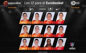 Las tres jugadoras del CB Avenida acudirán con la selección al Eurobasket