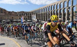 El cambio de fechas, principal novedad de la Vuelta a Segovia