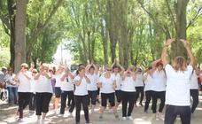 Cerca de 400 personas participan en el Encuentro en el Parque de Cuéllar