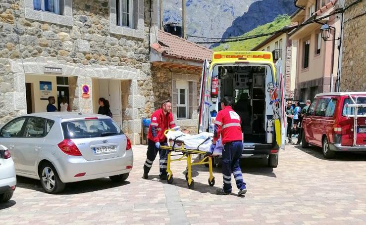 Un rescate con final feliz en Picos de Europa