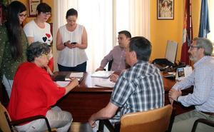 El nuevo alcalde de Cuéllar inicia el trabajo para poner en marcha su mandato
