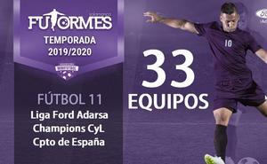 La Liga Ford Adarsa de Futormes cuenta ya con 33 equipos inscritos en Salamanca