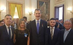 Nuria Robles, empleada de Renault condecorada por el Rey: «Estoy muy feliz por mí y por mis compañeros de Valladolid»
