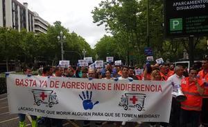 Trabajadores de las ambulancias de Castilla y León piden más seguridad, medios y protección como autoridad