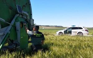 La detención de dos jóvenes esclarece ocho robos en explotaciones agrícolas de la provincia de Valladolid