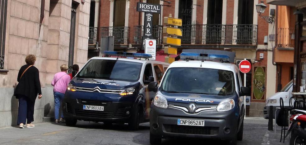 Al menos siete detenidos en una gran operación de la Policía contra el narcotráfico en Segovia