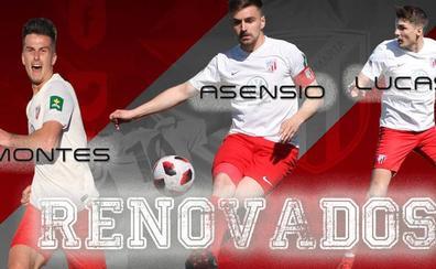 Asensio, Montes y Lucas renuevan con la Unión Deportiva Santa Marta