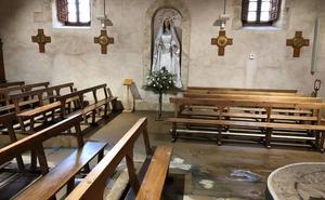 La rotura de una tubería inunda la iglesia de la Santísima Trinidad del Arrabal