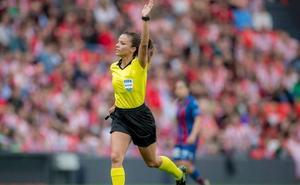La árbitra Marta Huerta asciende a la categoría First de la UEFA