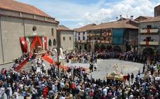 Béjar celebra su primer Corpus Christi como Fiesta de Interés Turístico Internacional